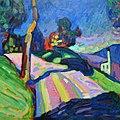 Кандинский Осенний пейзаж, Мурнау 1908.jpg