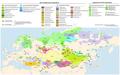 Мапа, уральскія і алтайскія мовы - created by Mr. Spock.png