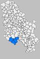 Областта Стара Рашка на картата на Сърбия.png