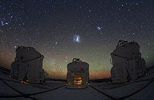 Night sky - Image: Паранальские ночи