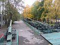 Французское 155-мм орудие конструкции 1877 г. Центральный музей Вооруженных сил. Москва. Октябрь 2015 - panoramio.jpg