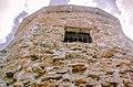 Чёртово городище,сторожевая башня белокаменной цитадели, уходящая в небо, Елабугв.jpg