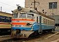 ЭР1-144, Украина, Днепропетровская область, депо Днепропетровск (Trainpix 46604).jpg