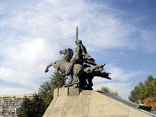 Andranik statue, Yerevan