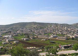 Qabatiya Municipality type B in Jenin, State of Palestine