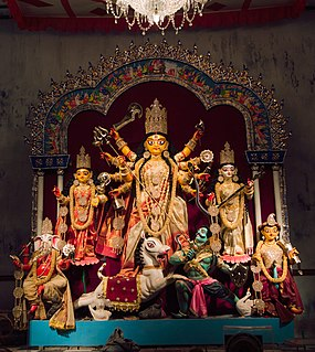 Durga Puja Hindu festival