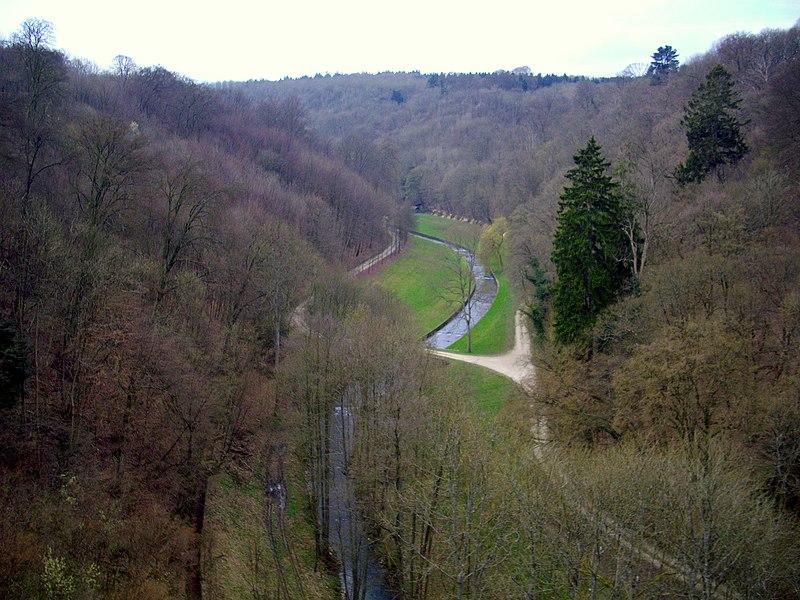 モダーヴ城からの眺め
