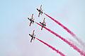 巴基斯坦空军雄狮飞行表演队 K-8教练机.jpg