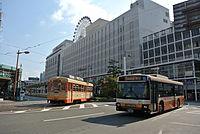 松山市駅のある伊予鉄ターミナルビル.JPG