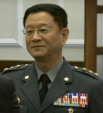 Republic of China Army - General Wang Shin-lung, the incumbent commander of the ROC Army