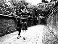 镇江西津渡走道(黑白) - panoramio.jpg