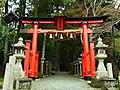 高野町西富貴 丹生神社の鳥居 2012.4.25 - panoramio.jpg