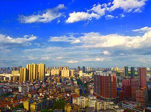 Huanggang - Skyline of Huanggang