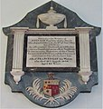 -2021-09-18 Wall plaque in memory of John and Frances Gay, Saint Mary's, Aldborough, Norfolk.JPG