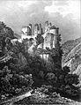 033 album dauphiné, chateau de Rochechinart, 2eme vue, Drome, by AD cropped.jpg