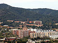 052 Montbau i les llars Mundet des del turó de la Rovira.JPG