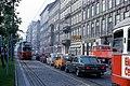 056R35270679 Franz Josefs Kai, Blick Richtung Schwedenplatz, Typ E1 4556, Linie Bk 27.06.1979.jpg