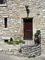 074 Cal Sastre, c. Forn 3 (Vallfogona de Riucorb), portal.jpg
