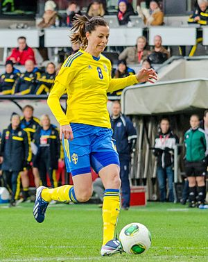 Lotta Schelin - Schelin in April 2013