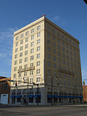 Lower Commerce Street Historic District - Image: 100 North Commerce Street