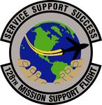 128 Mission Support Flt emblem.png