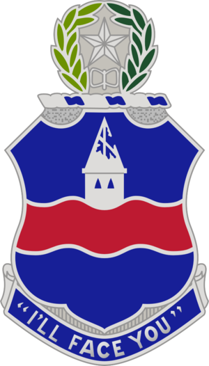 142nd Infantry Regiment (United States) - Image: 142 Inf Rgt DUI