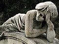 151 Tomba de Josep Domingo i Foix, escultura d'Antoni Pujol.jpg