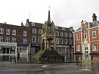15 Century market cross, Leighton Buzzard - geograph.org.uk - 956627.jpg