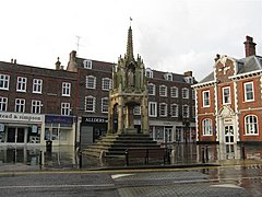 15 Century market cross, Leighton Buzzard - geograph.org.uk - 956627.jpg