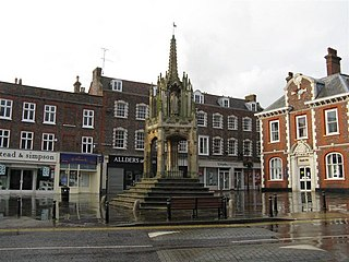 Leighton Buzzard town in Bedfordshire, England