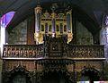174.Rumengol.Eglise.Le buffet d'orgues.JPG