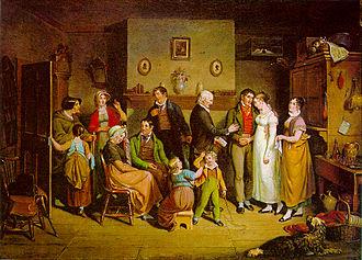 John Lewis Krimmel - Country Wedding (1820)