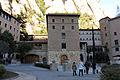 183 Monestir de Montserrat, plaça de Santa Maria, centre de coordinació pastoral.JPG