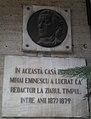 1877-1879 - Mihai Eminescu a lucrat ca redactor la Timpul in aceasta casa.jpg
