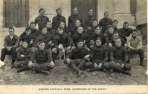 1908 Auburn Tigers football team - Image: 1908 Auburn Tigers football team