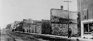 Bonner Springs, Kansas - Image: 1908 Fire
