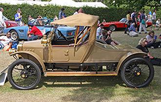 GWK (car) - 1914 GWK Type B