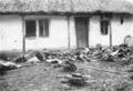 1916 decembrie casa distrusa in cursul luptelor la TITU.png