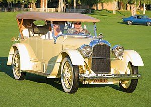 Fleetwood Metal Body - 1922 Duesenberg Model A phaeton by Fleetwood