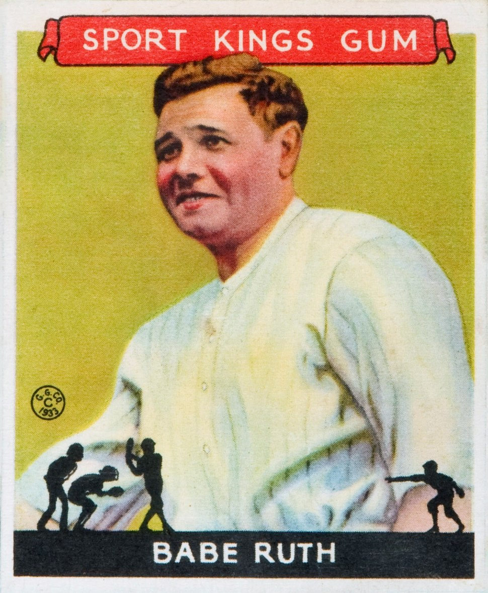 1933 Goudey Sport Kings 02 Babe Ruth