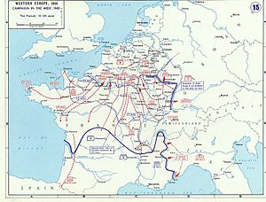 Battle of Saumur (1940) - Image: 1940France June