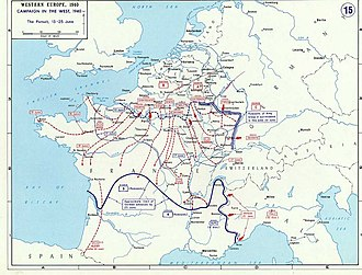 Battle of Saumur (1940) - Fall Rot, June 1940