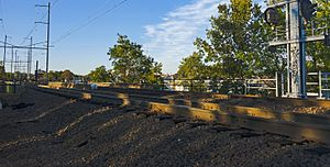 Woodbridge train wreck - Accident site in 2016