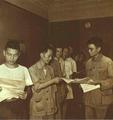 1952-10 1952年上海失业工人救济处发给朱培先一张表格.png
