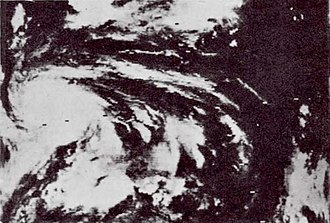 1964 Pacific typhoon season - Image: 1964 September 10 1528 Sally