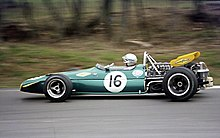 Photo de la Brabham BT33.