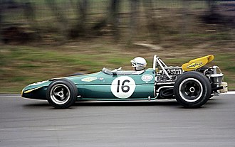 Brabham - Brabham BT33. Technically conservative, Brabham did not produce a monocoque car until 1970.