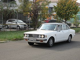 1972 Toyopet Corona 1700 in Bucharest.jpg