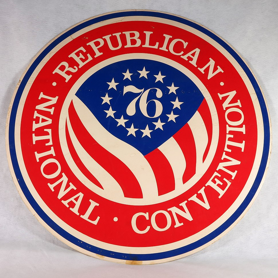 1976 RNC foam logo