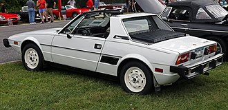 "Fiat X1/9 - 1978 U.S. market Fiat X1/9 with ""ladder"" bumpers"